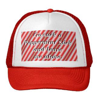 PeppermintRedCap-customize Mesh Hat
