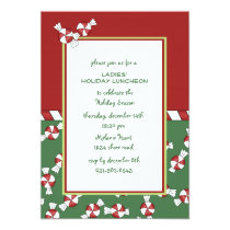 Peppermints Holiday Invitation