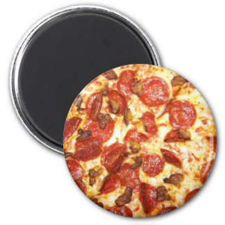 Pepperoni and Sausage Pizza Lover Magnet