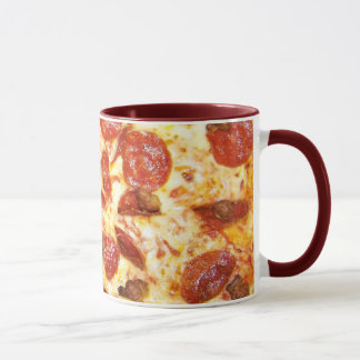 Pepperoni and Sausage Pizza Lover Mug