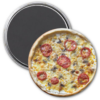 Pepperoni Cheese Pizza Refrigerator Magnet