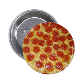 Pepperoni Perfection 2 Inch Round Button