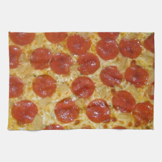 Pepperoni Perfection Hand Towel