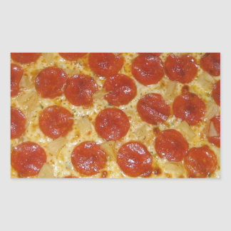 Pepperoni Perfection Rectangular Sticker