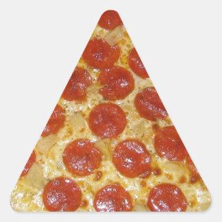 Pepperoni Perfection Triangle Sticker