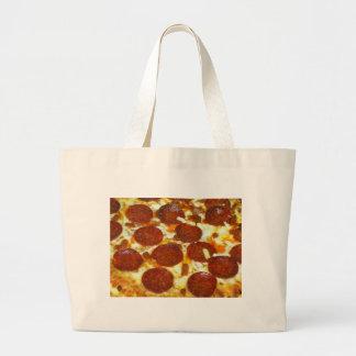 Pepperoni Pizza Tote Bags