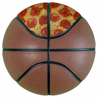 Pepperoni Pizza Basketball
