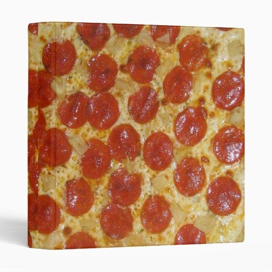 Pepperoni Pizza Binder