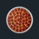 """Pepperoni Pizza Bluetooth Speaker<br><div class=""""desc"""">For the eyes as well as for the ears!</div>"""