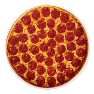 Pepperoni Pizza Ceramic Knob