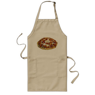 """Pepperoni Pizza"" design cooking apron"