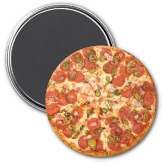 Pepperoni Pizza for the Cubicle Magnet