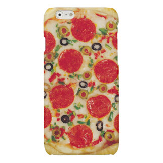 Pepperoni Pizza Glossy iPhone 6 Case