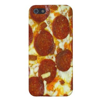 Pepperoni Pizza iPhone Case Cover For iPhone 5