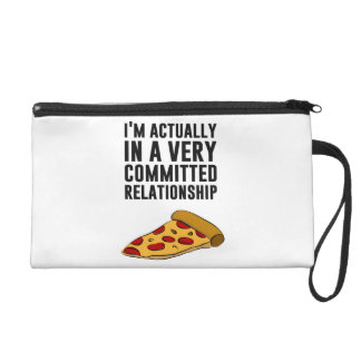 Pepperoni Pizza Love - A Serious Relationship Wristlets