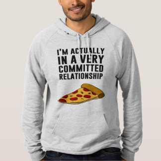 Pepperoni Pizza Love - A Serious Relationship Pullover