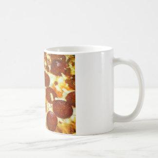 Pepperoni Pizza Classic White Coffee Mug