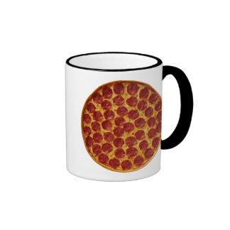 PEPPERONI PIZZA RINGER COFFEE MUG