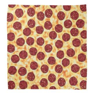 Pepperoni Pizza Pattern Bandana