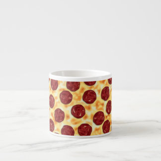 Pepperoni Pizza Pattern Espresso Cup