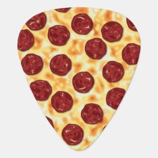 Pepperoni Pizza Pattern Guitar Pick