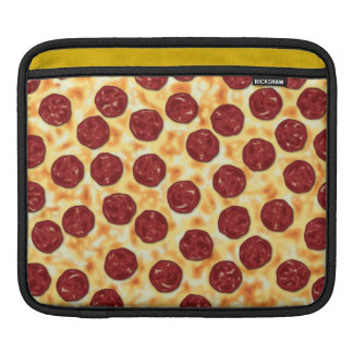 Pepperoni Pizza Pattern Sleeve For iPads