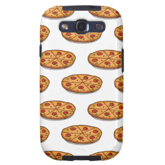 Pepperoni Pizza Pattern; Italian Food Samsung Galaxy S3 Cover