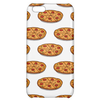 Pepperoni Pizza Pattern; Italian Food iPhone 5C Covers
