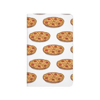 Pepperoni Pizza Pattern; Italian Food Journal