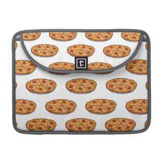 Pepperoni Pizza Pattern; Italian Food Sleeves For MacBook Pro