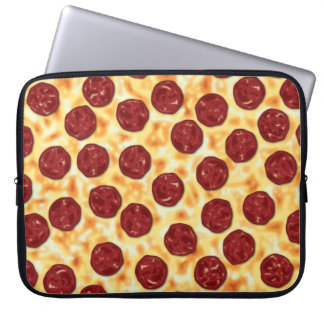 Pepperoni Pizza Pattern Computer Sleeves
