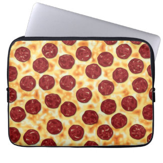 Pepperoni Pizza Pattern Laptop Computer Sleeves