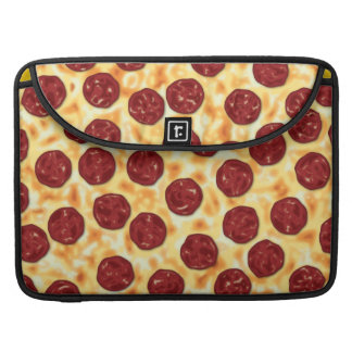Pepperoni Pizza Pattern Sleeve For MacBooks