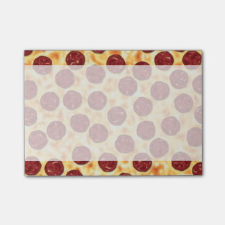Pepperoni Pizza Pattern Post-it® Notes
