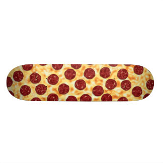 Pepperoni Pizza Pattern Skateboard Deck