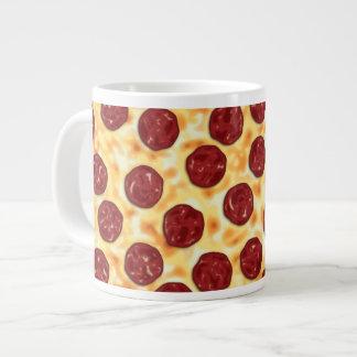 Pepperoni Pizza Pattern 20 Oz Large Ceramic Coffee Mug