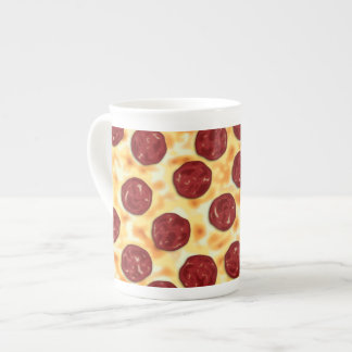 Pepperoni Pizza Pattern Tea Cup