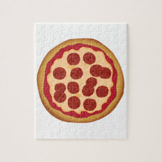 Pepperoni Pizza Pie Jigsaw Puzzle