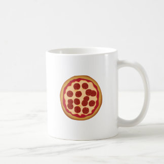 Pepperoni Pizza Pie Classic White Coffee Mug