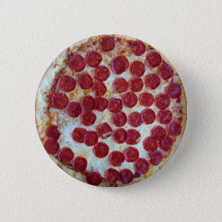 Pepperoni Pizza Pinback Button