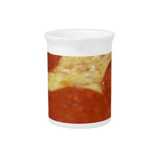 pepperoni pizza pitcher