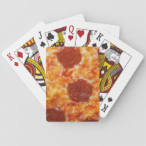 Pepperoni Pizza Playing Cards