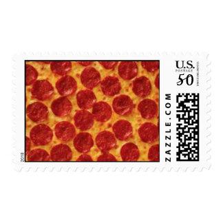 Pepperoni Pizza Postage