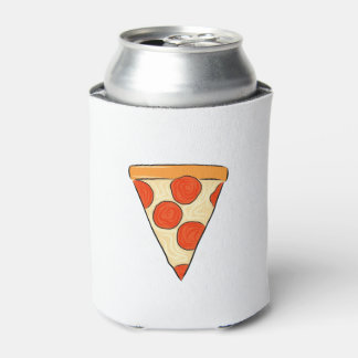 Pepperoni Pizza Slice Classic New York Style Pizza Can Cooler