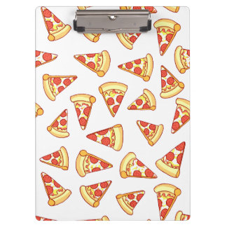 Pepperoni Pizza Slice Drawing Pattern Clipboard