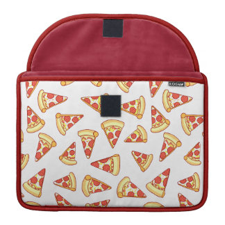 Pepperoni Pizza Slice Drawing Pattern Macbook Case Sleeves For MacBooks