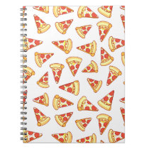 Pepperoni Pizza Slice Drawing Pattern Notebook