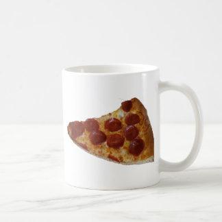 Pepperoni Pizza Slice Mug Basic White Mug