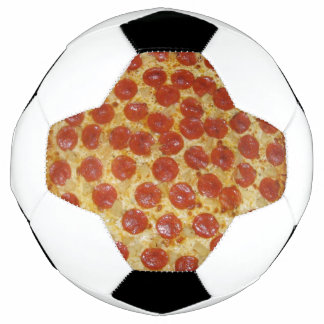 Pepperoni Pizza Soccer Ball