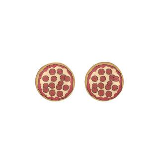 Pepperoni Pizza Stud Earrings